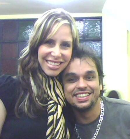 Minha irmã Nãna Shara e seu marido Brinco